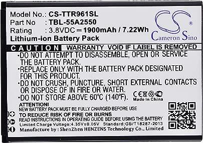 CS-TTR961SL Akku 1900mAh Kompatibel mit  TP-LINK  M7350  M7350 Ver 1 0-3 0  TL-TR961 Ersetzt TBL-55A2550