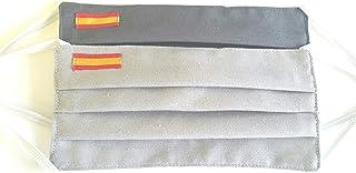 Pack 2 hombre bandera de España gris claro y gris oscuro