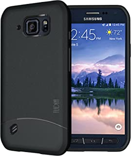 TUDIA Galaxy S6 Active Case, [Arch] Minimal Design Slim Fit Shock Absorption Lightweight TPU Bumper Protection Case Cover ...