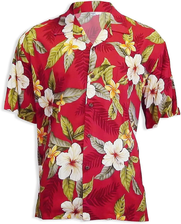 Two Palms Men's Leilani Rayon Shirt