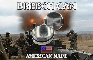 The Breech Can™ An Airtight Interrupted Screw container, Fashioned after an artillery Breech.