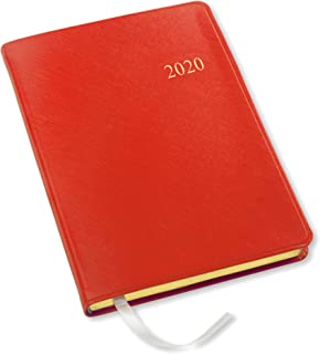 2020 Desk Weekly Planner by Gallery Leather - Open Format 8