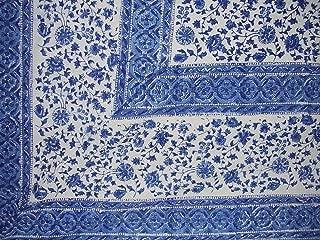 Rajasthan Block Print Tapestry Cotton Bedspread 108