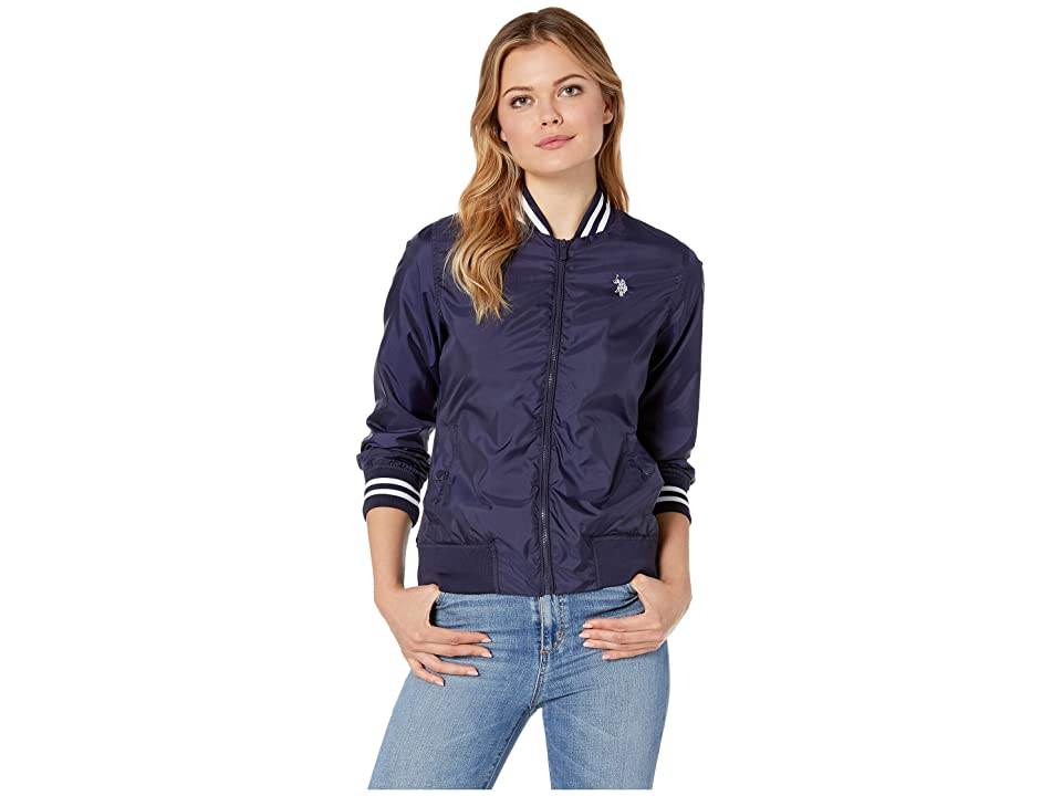 U.S. POLO ASSN. Baseball Jacket (Evening Blue) Women
