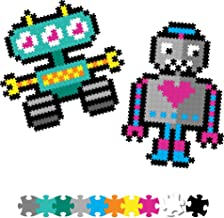 Fat Brain Toys Jixelz 700 pc Set - Roving Robots Arts & Crafts for Ages 6 to 12