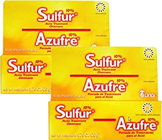 Grisi Sulfur Acne Treatment Ointment.7 oz 2 Pack
