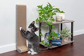 أثاث منزلي للقطط من فورهايفن | ورق مقوى لخرمشة القطط وشقة ببرج بيت الحيوانات مع نعنع بري للقطط - متوفر بعدة أشكال
