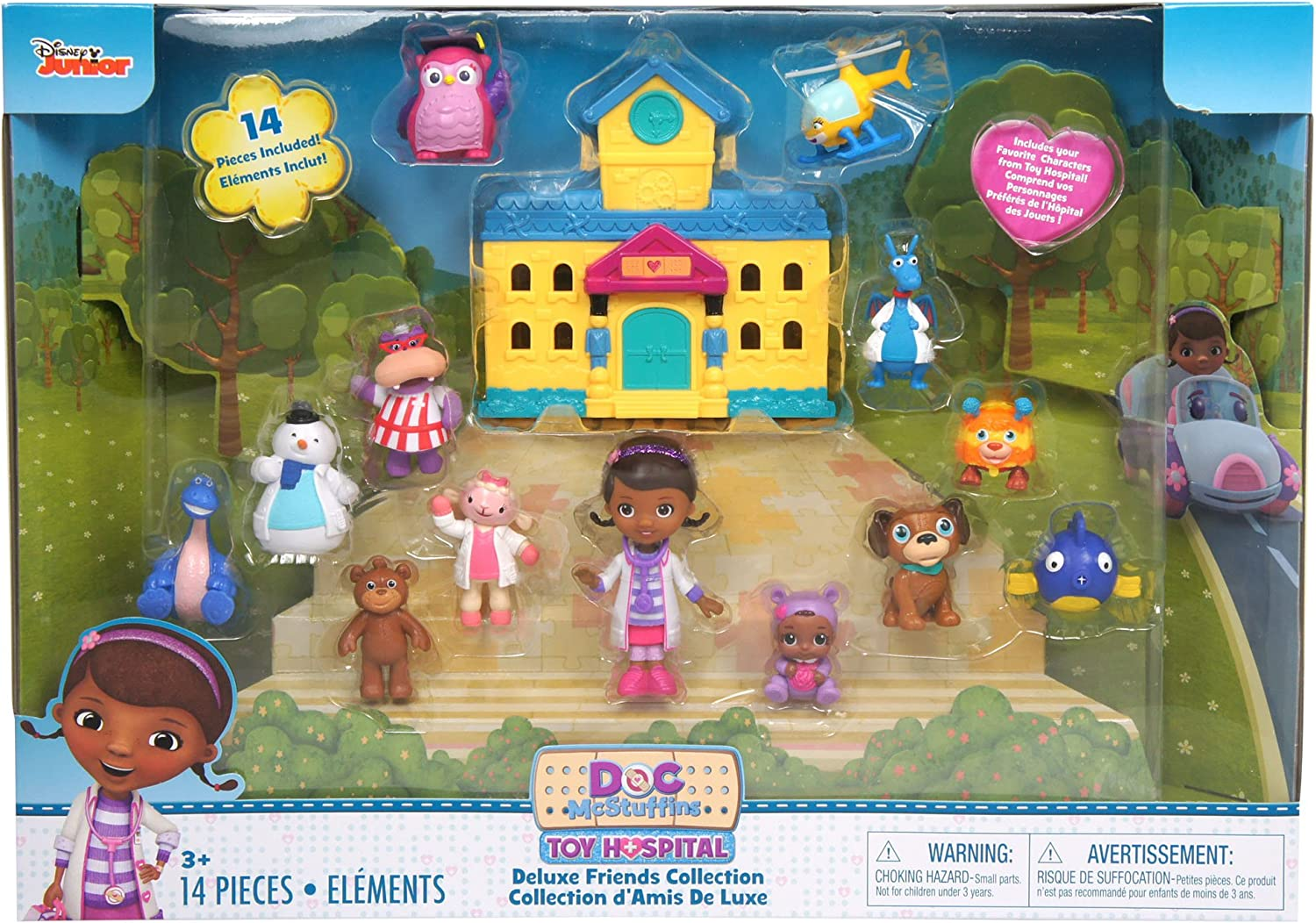 Just Play Doc Mcsruffins Deluxe Figure Pack