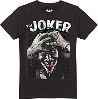 Ufficiali Uomini DC Comics The Joker All Over Stampa Salotto Lounge Taglie S-XXL