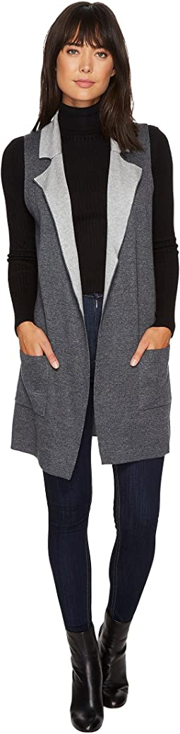B Collection by Bobeau - Jasper Double Faced Vest