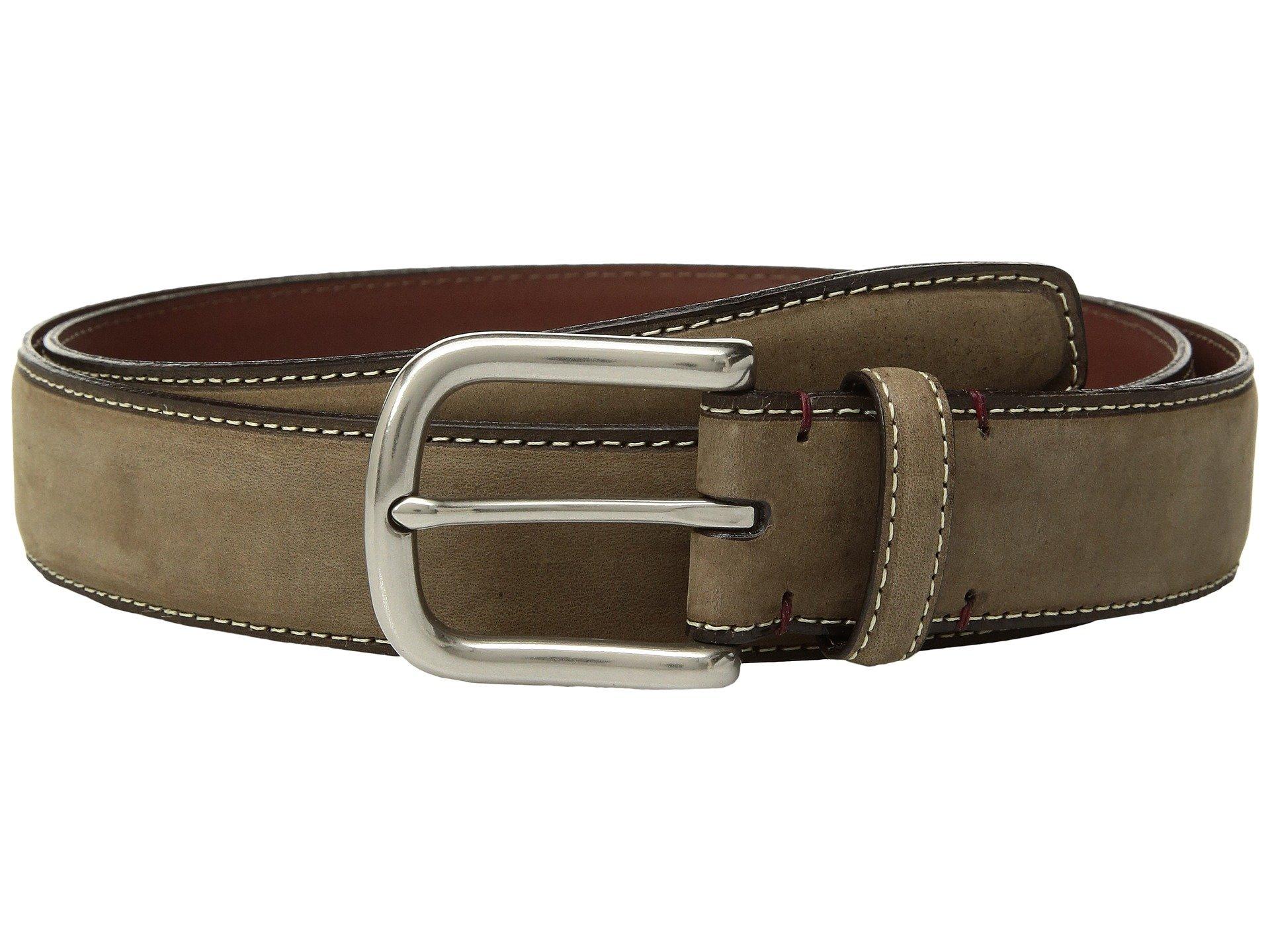 Correa o Cinturon para Hombre Torino Leather Co. 35mm Waxed Nubuck Shoulders  + Torino Leather Co. en VeoyCompro.net