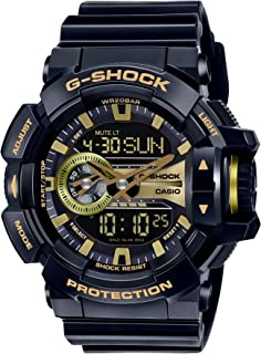 Casio Men's Dial Silicone Band Watch - GA-400GB-1A9DR