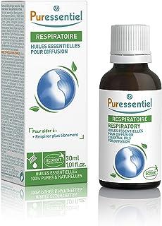 Puressentiel - Respiratoire - Huiles Essentielles pour Diffusion - Diffuse Respi - 100% pures et naturelles - Aide à respi...