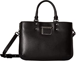 Dani Hermine Leather Satchel