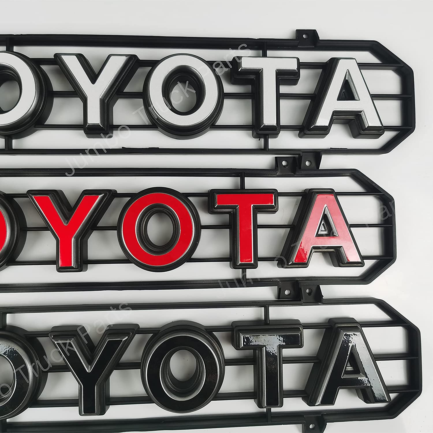JTP Tacoma Year-end gift TRD Grille Decals Manufacturer direct delivery 3 Fit colors 2016-2021 for
