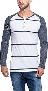 Alan Jones Clothing Men's Cotton Henley T-Shirt