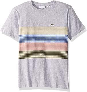 Boy Color Block Chest Striped T-Shirt