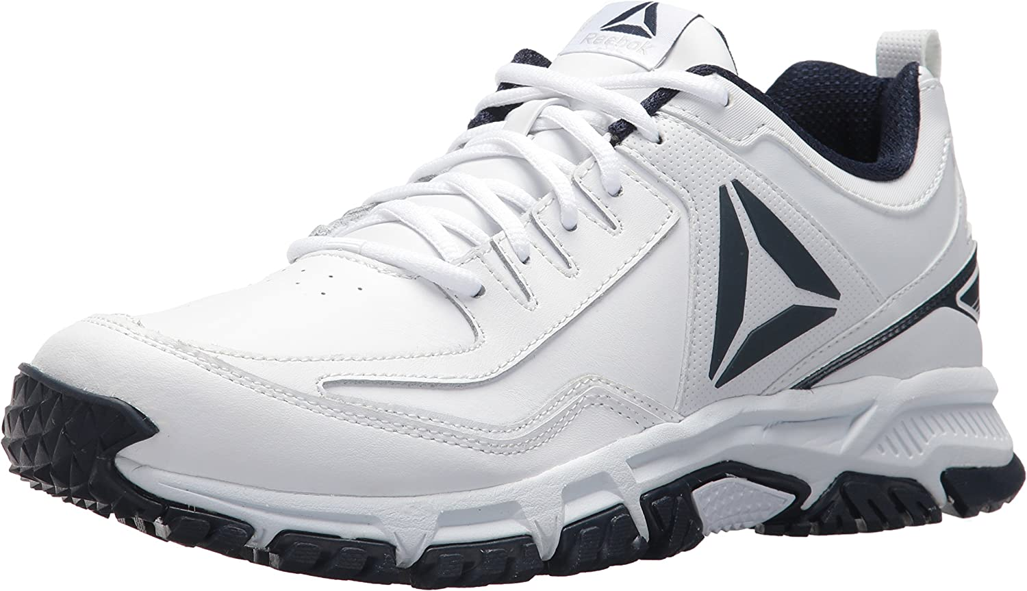Reebok Men's Ridgerider Leather Turnschuhe, Weiß coll. Navy, 7 M US
