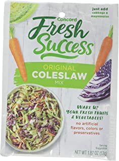 Concord Farms Coleslaw Mix, 1.87 Ounce Pouches (Pack of 18)