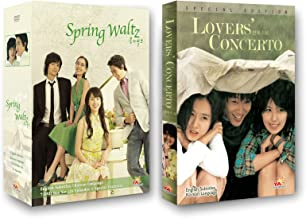Korean TV Drama 2-pack (YA Entertainment): Spring Waltz + Lovers` Concerto