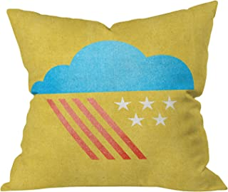 Deny Designs Nick Nelson Patriotic Weather Throw Pillow, 16 x 16