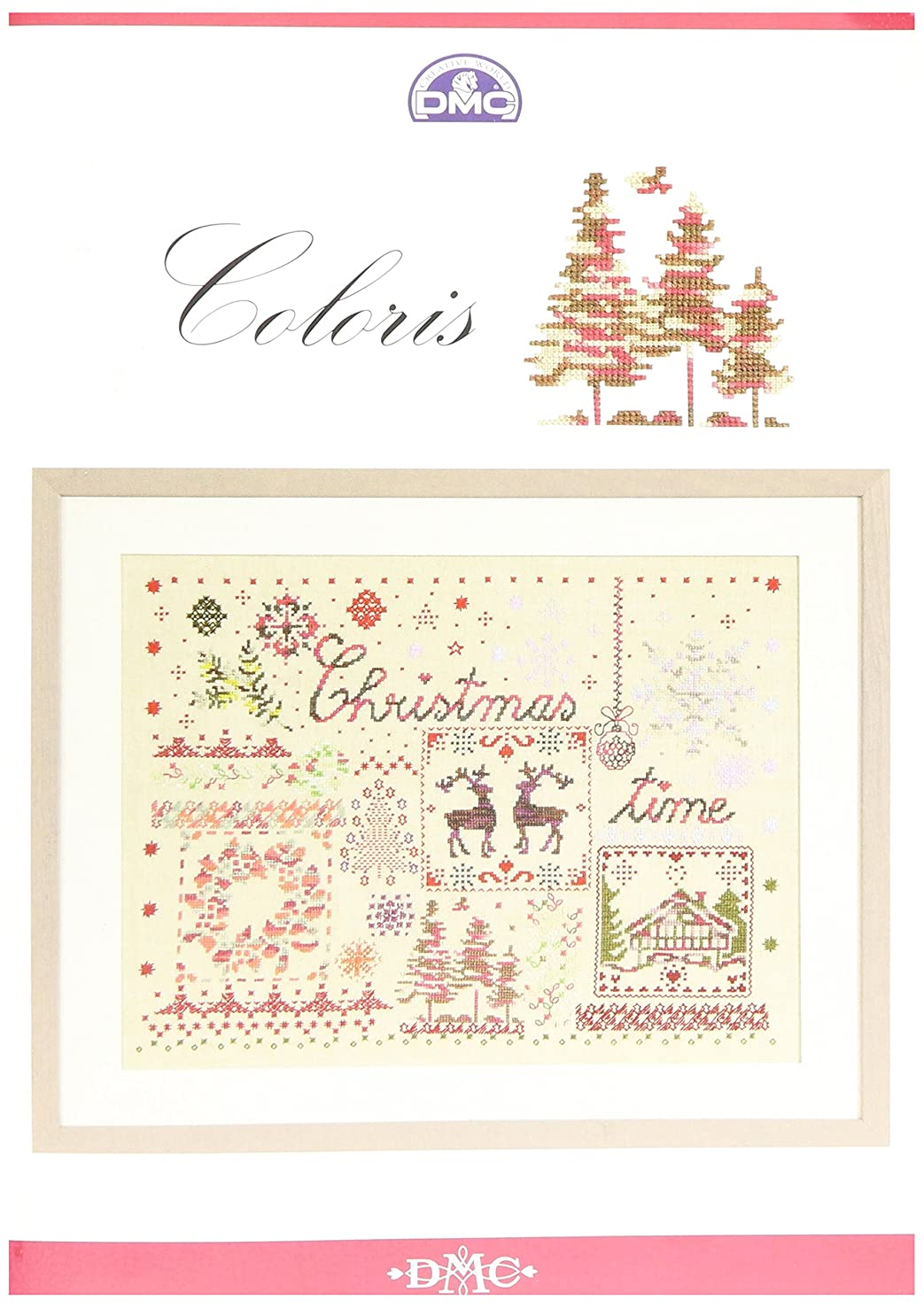 DMC Coloris Pattern Book Christmas