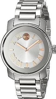 Women's 3600244 Bold Analog Display Swiss Quartz Silver-Tone Watch