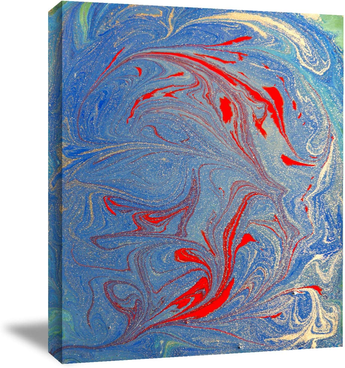 Looife Canvas Wall Art - 18x24 Green Blue Colorful Red Manufacturer Superior direct delivery Inch and