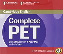 Complete PET for Spanish Speakers Class Audio CDs (4)