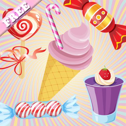 Candy Bonbons et gâteaux Jeux de mémoire pour les bambins et les enfants ! GRATIS
