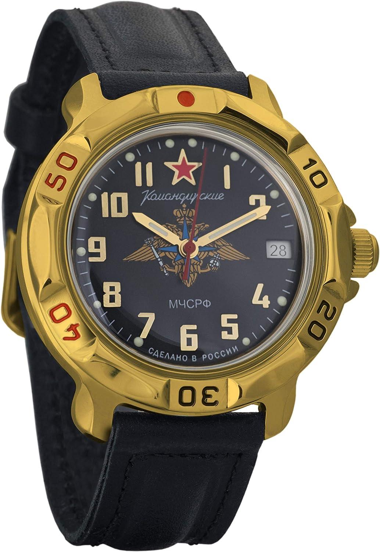 Vostok Komandirskie EMERCOM List Bargain price of Russia MChS Mi Mechanical Mens RF