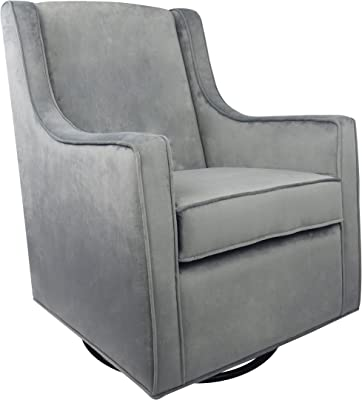 Fun Furnishings Posh Glider Adult Chair, Grey