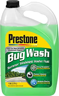 Prestone AS657 Bug Wash Windshield Washer Fluid, 1 Gallon