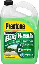 Prestone AS657 Bug Wash Windshield Washer Fluid, 128 Ounces
