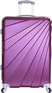 Slimbridge Valise Rigide Grande Taille XL Bagage 76 cm 4,5 kg 100 Litre 4 roulettes, Fusion Prune