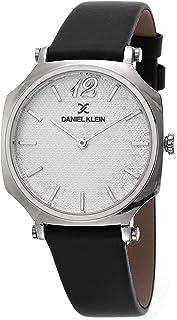 DANIEL KLEIN Premium Alloy Case Genuine Leather Band Ladies Wrist Watch - DK.1.12519-1