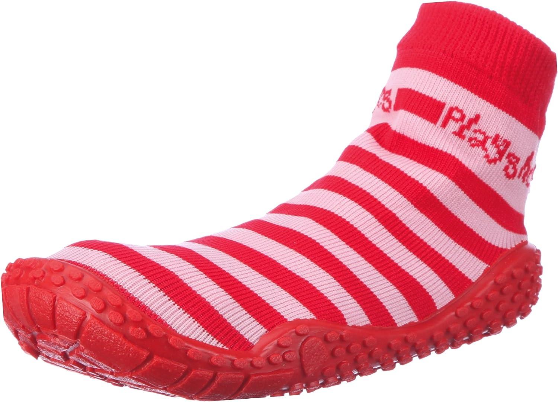 Playshoes Unisex-Child Aqua Socks 5 Fresno Mall ☆ popular with Stripes Uv Wat Protection