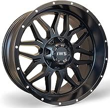 IWS 5014 20x10 Matte Black Wheel 6x135/6x139.7-12 Offset