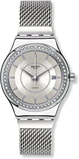 Swatch YIS406GB Sistem Stalac S Silver Steel Bracelet Watch