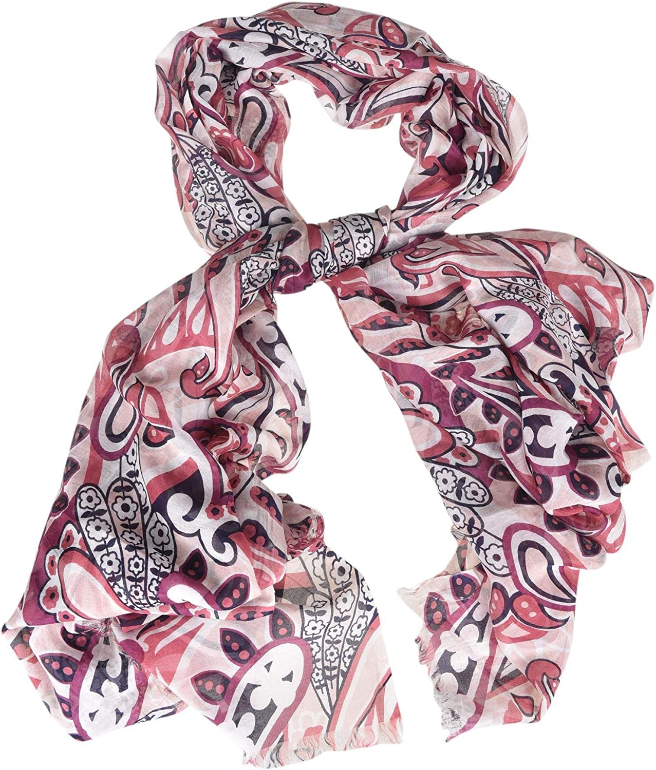 Camerucci Women's pink8472 Pink Modal Scarf