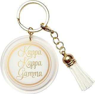 Alexandra and Company Acrylic Key Chain, Kappa Gamma
