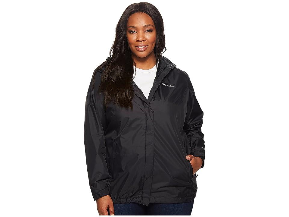 Columbia Plus Size Arcadia IItm Jacket (Black) Women