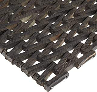 Durable Durite Recycled Tire-Link Outdoor Entrance Mat, Herringbone Weave, 24