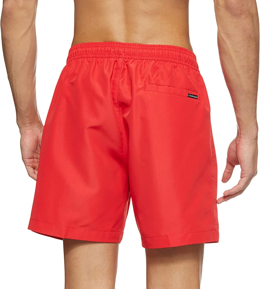 Calvin klein medium drawstring,costume a pantaloncini per uomo,100 poliestere KM0KM00446