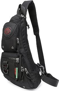 Sling Backpacks, Sling Chest Bags Shoulder Fanny Pack Crossbody Bags for Men Women Outdoor Travel Walking Dog Running
