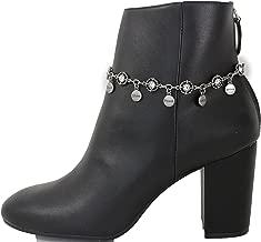 Trendy Fashion Jewelry TFJ Women Boot Bracelet Western Chain Smile Believe Hope Shine Peace Charm Antique Silver