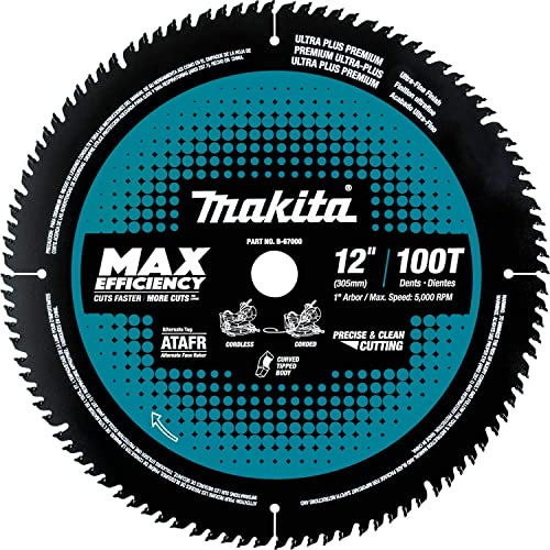 """discount Makita B-67000 12"""" 2021 100T Carbide-Tipped Max popular Efficiency Miter Saw Blade outlet online sale"""