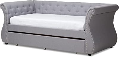 Baxton Studio Charise Daybed, Gray