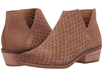 FRYE AND CO. Caden Perf Bootie (Pecan Suede) Women