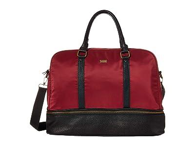 Roxy Stay Groovy Large Weekend Bag (Rhubarb) Weekender/Overnight Luggage